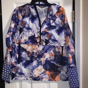 Adidas vintage pullover windbreaker